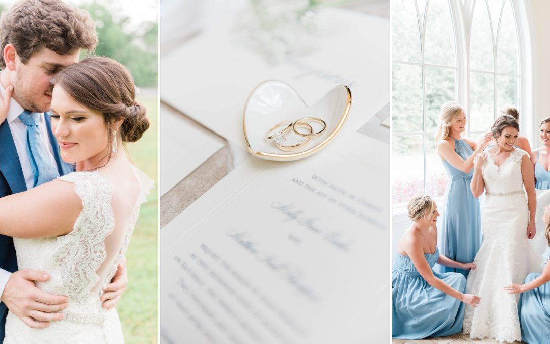 A Southern Summer Wedding at Christ Church at Branch Cove