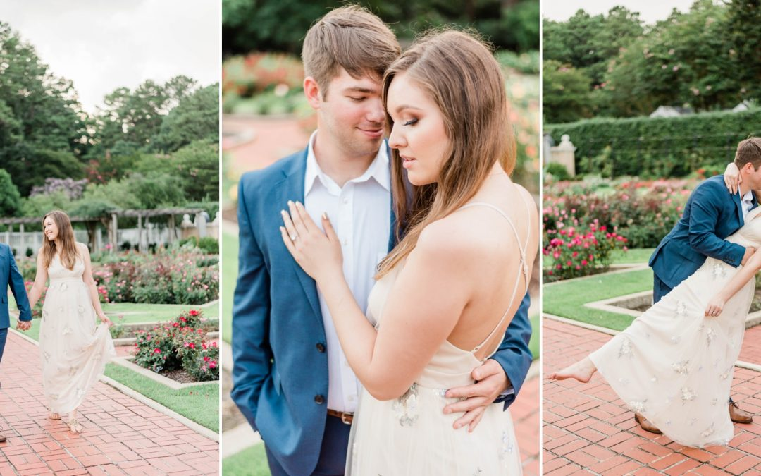 A Birmingham Botanical Gardens Engagement Session