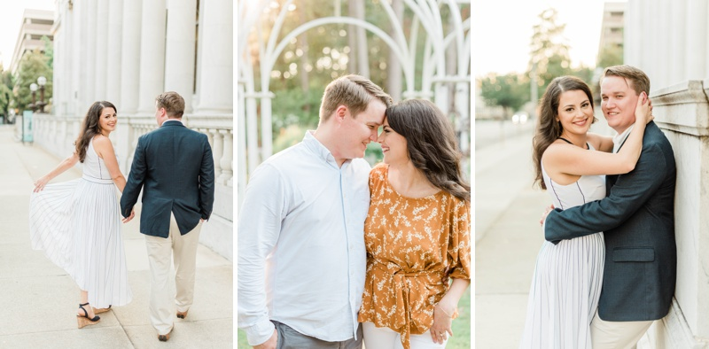 A Mid September Engagement Session in Downtown Birmingham, Alabama