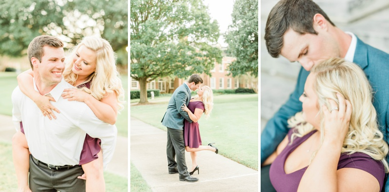 A Birmingham Botanical Gardens & Samford University Engagement Session