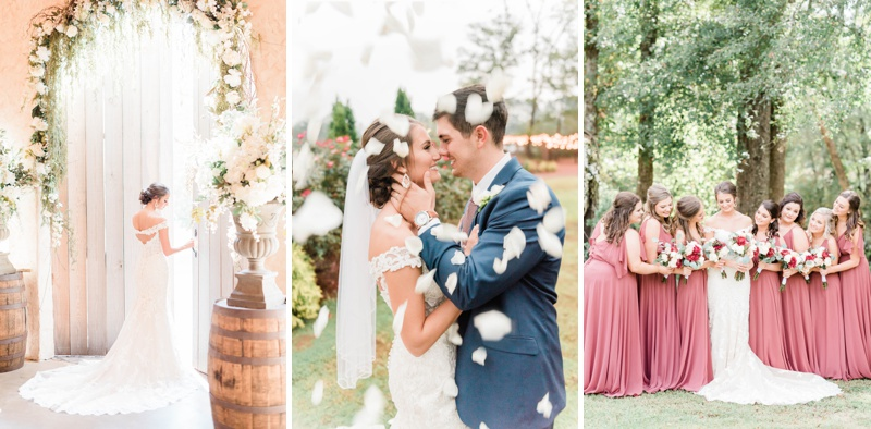 An Alabama Fall Wedding at Creekside Meadows