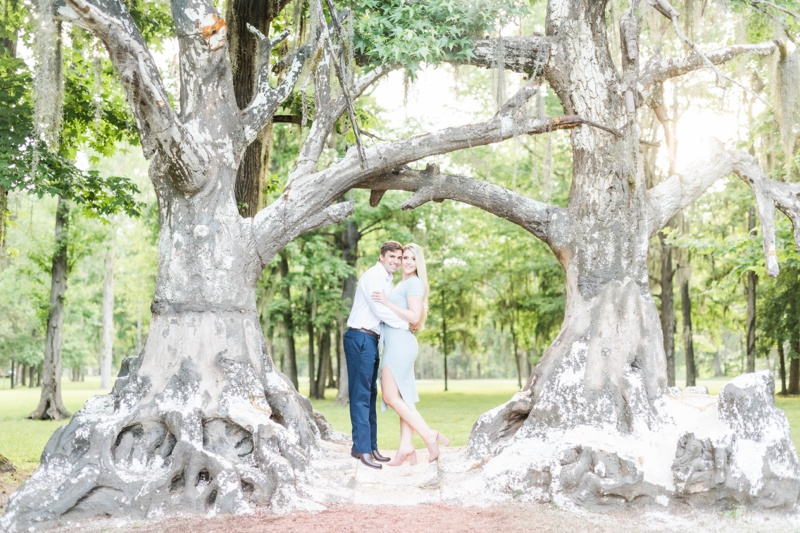 A Summer Engagement Session in Millbrook, Alabama