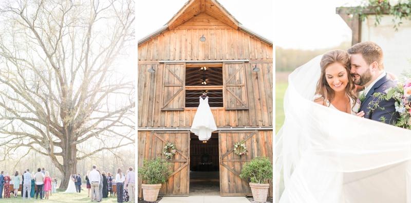 An Early Springtime Wedding in Talladaga, Alabama