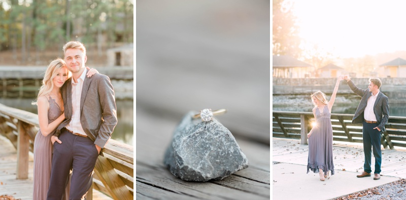 A Beautiful Engagement Session at Alabama's Oak Mountain State Park