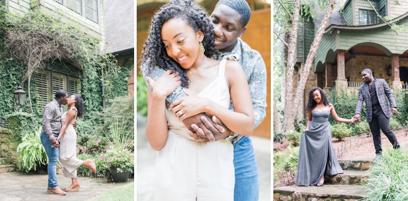 A Fairy Tale Engagement Session in Birmingham, Alabama