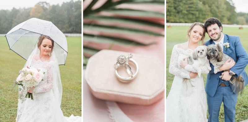 A Beautiful Rainy Day Wedding at Southwind Plantation in Wellington, Alabama